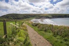 Aber Mawr, Pembrokeshire Fotografering för Bildbyråer