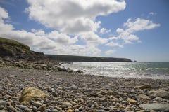 Aber Mawr, Pembrokeshire Royaltyfri Foto
