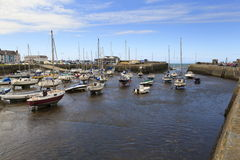 Aberaeron-Hafen Stockfotografie