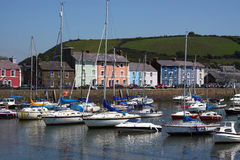 Aberaeron harbour Royalty Free Stock Image