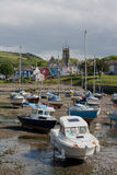 Aberaeron harbour Stock Images