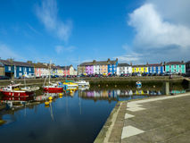 Aberaeron Stock Photo