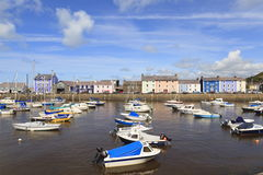 Aberaeron harbour Stock Photography