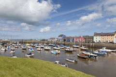 Aberaeron - Welsh harbour Royalty Free Stock Image