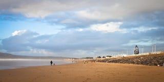 Aberafan strand Fotografering för Bildbyråer