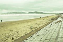 Aberafan strand Royaltyfri Foto