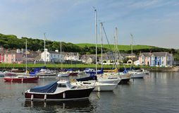 Aberareon harbour, west Wales Stock Image