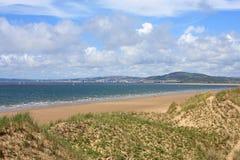Aberavon strand Arkivfoto