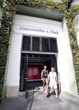 ABERCROMBIE AND FITCH CLOTHING stock images