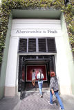 ABERCROMBIE AND FITCH CLOTHING royalty free stock photo