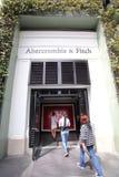 ABERCROMBIE I FITCH odzież zdjęcie royalty free