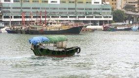 在Aberdeenï ¼ ŒHong孔的传统运输 免版税图库摄影