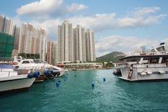 Aberdeen ö i Hong Kong Royaltyfri Bild