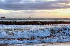 Aberdeen Beach Stock Image