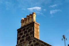Aberdeen Chimney Stock Photo