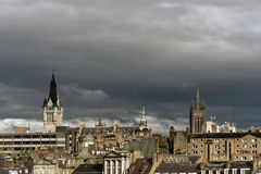 Aberdeen City architecture Royalty Free Stock Photography