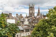 Aberdeen city centre Royalty Free Stock Image