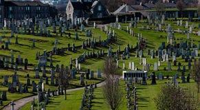 Aberdeen cmentarz zdjęcie royalty free