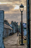 Aberdeen Cottages Royalty Free Stock Photography