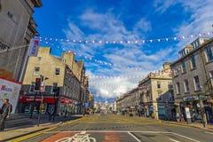 Aberdeen en stad i Skottland i Storbritannien, 13/08/2017 Fotografering för Bildbyråer