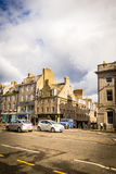 Aberdeen en stad i Skottland i Storbritannien, 13/08/2017 Arkivbild