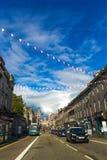 Aberdeen en stad i Skottland i Storbritannien, 13/08/2017 Royaltyfria Bilder