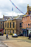 Aberdeen en stad i Skottland i Storbritannien, 13/08/2017 Royaltyfria Foton