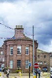 Aberdeen en stad i Skottland i Storbritannien, 13/08/2017 Arkivfoton