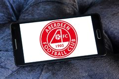 Aberdeen F C Logo de club du football Image stock