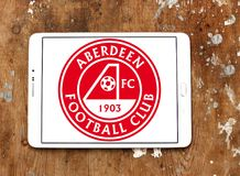Aberdeen F C Logo de club du football Photo stock