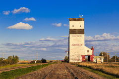 Aberdeen Grain Elevator Stock Photography