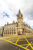 Aberdeen granite city, Townhouse in Union street, Scotland, 13/08/2017. Aberdeen granite city,  Townhouse in Union street, Scotland, UK Stock Photos