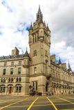 Aberdeen granitowy miasto, dom miejski w Zrzeszeniowej ulicie, Szkocja, UK, 13/08/2017 Obraz Stock