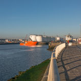 Aberdeen Harbour Oil and Gas Capital of Europe Stock Photos