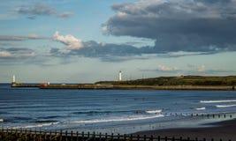 Aberdeen himlar Arkivbild