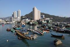 aberdeen Hong Kong Royaltyfri Bild
