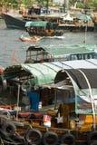 aberdeen Hong Kong Arkivfoton