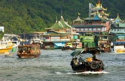 aberdeen Hong Kong Arkivbilder