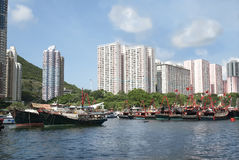 Aberdeen à Hong Kong Image stock