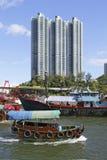 aberdeen Hong Kong Arkivbild