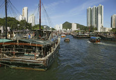 aberdeen Hong kong Zdjęcia Stock