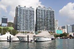 Aberdeen Hong Kong Arkivfoto