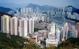 aberdeen Hong Kong Royaltyfri Fotografi
