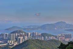 Aberdeen Hong Kong sikt på maximumet Royaltyfria Foton