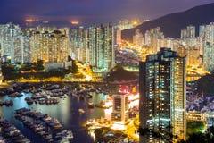 Aberdeen in Hongkong Stock Afbeeldingen