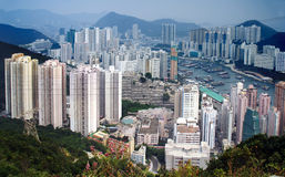 Aberdeen, Hongkong. royalty-vrije stock fotografie