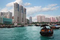 Aberdeen Island in Hong Kong Stock Photo
