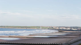 Aberdeen-Küste Stockfoto