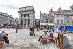 Aberdeen koppla av royaltyfri foto