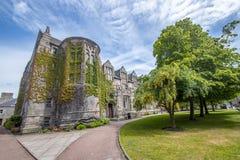 Aberdeen królewiątka szkoły wyższej Uniwersytecki budynek To jest stary zdjęcia stock